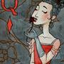 Queen of Diamonds by NataliKlekot