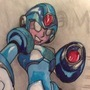 Megaman by Rustyhound