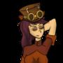 Steampunk Vivian by KuukyTrooper