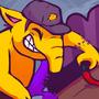 vinny's secretly a drowzee by torithefox