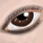 Realistic eye by Eshio