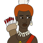 Nubian Archer from Illustrator by BrandonP