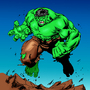 hulk ink and color by NewBCartoonist