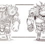 Orc medium & heavy armor by Ravish261