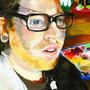Self Portrait in Oil by MattHintz