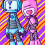 Cute Lil Robots by Walkingpalmtree