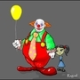 Creepy Clown by Raguel