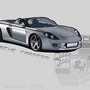 Porsche Carrera GT Vector by Speedfalcon