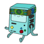 BMO with a bandana by Haris