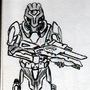Mass effect Halo armer by JUSTinnator3