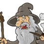 Gandalf by Pounz