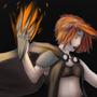 A girl of fire by Alphagusta
