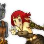 Wakfu characters by Senhorze