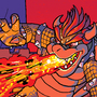 Bowser Battle by SQUWAPE