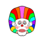 Afro Clown by Miroko