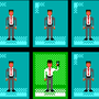 Pixel office people by enzob7
