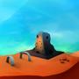 Desert Dungeon by Axum
