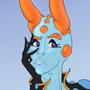 Sea Slug Girl by Rikert