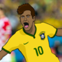Neymar Jr - Brazil by ChrisGorman