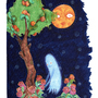 Haunted Peach Tree by odditiesbyangela