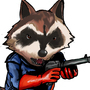 Rocket Raccoon by PaintBoxHero
