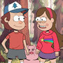 Dipper, Mabel, and Waddles ! by SatoshiTakeo