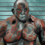 Drax The Destroyer by PaintBoxHero