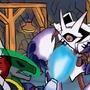 Darkdramon vs Parallelmon by Ardhamon