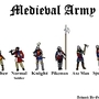 Medieval Soldiers by Orphi