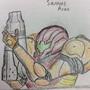 Samus Sketch colored by JUSTinnator3