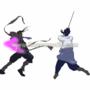 TWS Sasuke vs John by chaosphoenix88