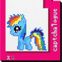 Captchlog Card With Pony by ChezCatTale