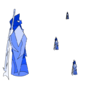 Blue Knight by Gheata