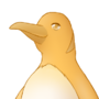 Golden Penguin by fawn-cat