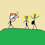 Me ant sume frends on vakation by BestDrawerer