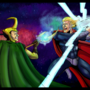 Thor Vs Loki by LucasDimension