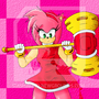 Amy Rose by AshiroKei