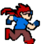 Roy running animation by MightyKid