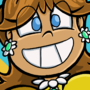 Princess Daisy Button