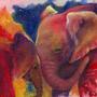 Elephants in Technicolor