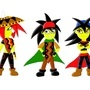 Doerevil characters