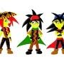 Doerevil characters by TreasureMan