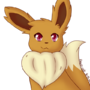 Another Eevee by fawn-cat