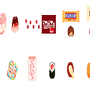 some of my pixel food part 2 by jeim