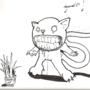 drug cat by freaknarf