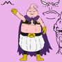 Majin Buu done in MS Paint by masterxx