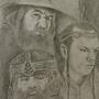 Lord of the Rings Fan Art by Geodracula