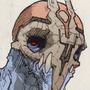 skull-creature by nicrael
