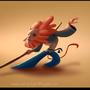Shaolin monkey by sorinmandache