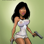 Chicas Relaunch: Morena by MooseDirtyComics